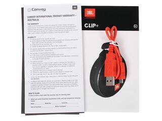 Портативная колонка JBL Clip + бирюзовый
