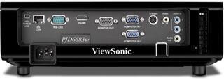 Проектор ViewSonic PJD6683WS черный