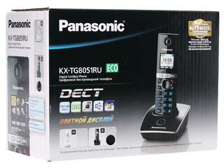 Телефон беспроводной (DECT) Panasonic KX-TG8051RUB