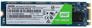 240 ГБ SSD M.2 накопитель WD Green [WDS240G1G0B]