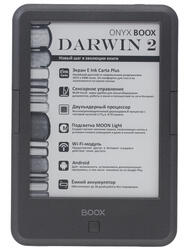 6'' Электронная книга ONYX Boox Darwin 2 серый + чехол
