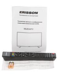 """32"""" (81 см)  LED-телевизор Erisson 32LEC22T2 черный"""