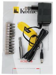 Аккумуляторная отвертка Kolner KСSD 4.8