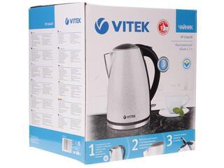 Электрочайник Vitek VT-1144 GY серебристый