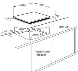 Электрическая варочная поверхность Electrolux EHF96140FK