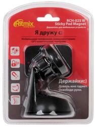 Автомобильный держатель RITMIX RCH-025 W STICKY PAD MAGNET