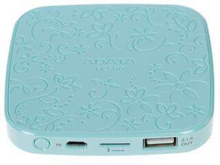 Портативный аккумулятор ADATA голубой