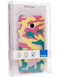 Накладка + защитная пленка  для смартфона HTC One