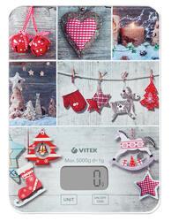 Кухонные весы Vitek VT-8019 MC серый