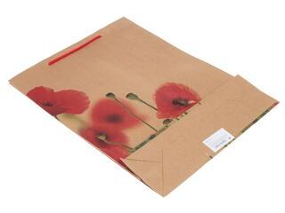 Пакет подарочный Маки