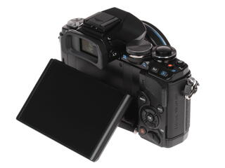Камера со сменной оптикой Olympus OM-D E-M10 Pancake kit 14-42mm EZ Black
