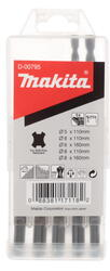 Набор буров Makita D-00795