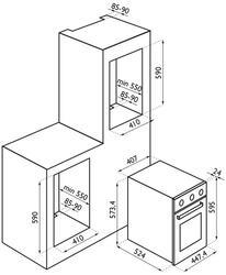 Электрический духовой шкаф Ardesia HSN 040 X