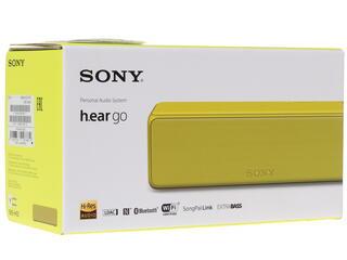 Портативная колонка Sony SRS-HG1 желтый