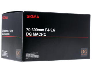 Объектив Sigma AF 70-300 F4.0-5.6 APO Macro DG Motor