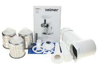 Мясорубка Zelmer ZMM1594SRU серебристый