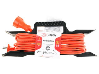 Удлинитель силовой Эра UF-1-2x0.75-10m оранжевый