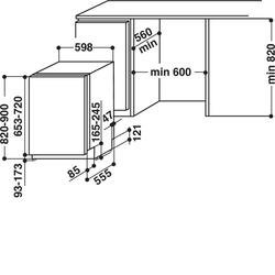 Встраиваемая посудомоечная машина Whirlpool WIC 3B16
