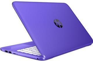 """11.6"""" Ноутбук HP Stream 11-y001ur фиолетовый"""