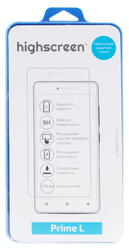 "5"" Защитное стекло для смартфона Highscreen Prime L"
