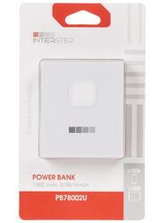 Портативный аккумулятор InterStep PB78002UW белый