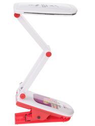 Настольный светильник ЭРА NLED-424 белый, красный