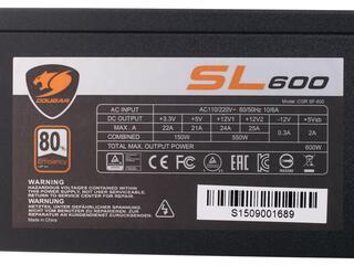 Блок питания Cougar SL 600W [SL600]