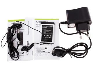 Сотовый телефон Vertex S102 черный