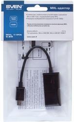 Кабель SVEN MHL 11 pin 0.2m micro USB - HDMI