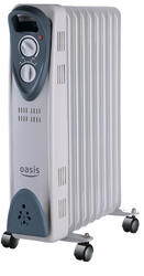 Масляный радиатор Oasis UТ-20 серый