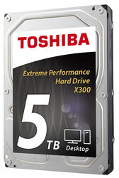5 ТБ Жесткий диск Toshiba X300 [HDWE150EZSTA]