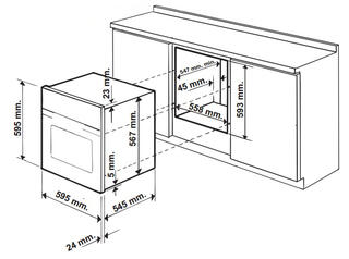 Электрический духовой шкаф Indesit 7OFIM 53 K.A IX