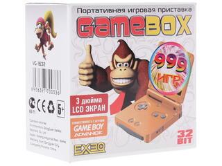 Портативная игровая консоль Exeq GameBox  + 999 игр (картридж)