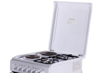 Комбинированная плита Indesit I5NSH2AE(W)/RU белый