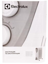 Масляный радиатор Electrolux EOH/M-3105 белый