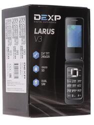 Сотовый телефон DEXP Larus V3 черный
