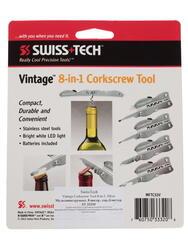 Мультитул Swiss+Tech Vintage Corkscrew Tool Silver