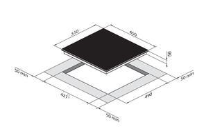 Электрическая варочная поверхность Zigmund & Shtain CIS 199.45 BX