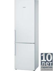 Холодильник с морозильником BOSCH KGV39XW20R белый