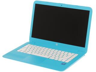 """14"""" Ноутбук HP Stream 14-ax004ur синий"""