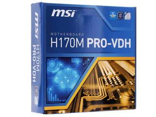 Материнская плата MSI H170M PRO-VDH