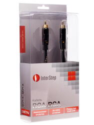 Кабель соединительный InterStep RCA - RCA