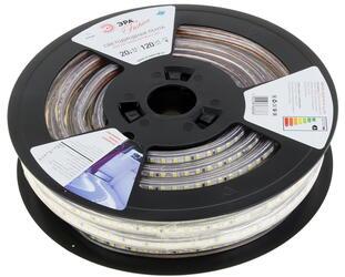 Светодиодная лента ЭРА 3528-220-120LED-IP67-W-20m