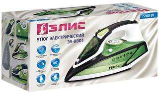 Утюг ЭЛИС ЭЛ-8801 зеленый