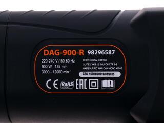Углошлифовальная машина DEFORT DAG-900-R
