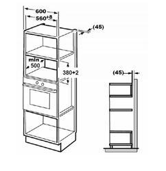 Встраиваемая микроволновая печь Zigmund & Shtain BMO 13.252 B черный