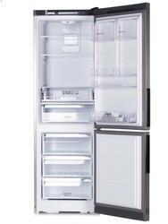 Холодильник с морозильником Hotpoint-ARISTON HF 4181 X серебристый