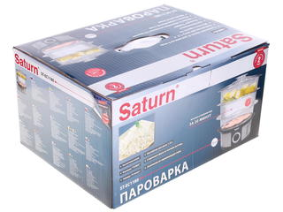 Пароварка Saturn 1180 серебристый