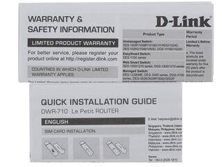 3G модем D-Link DWR-710