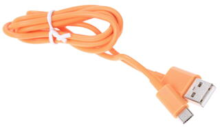 Кабель Nobby 7733 USB - micro USB оранжевый